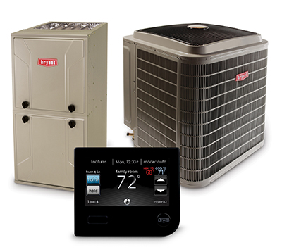 Bryant Heating and Air Services Near Mobile Alabama